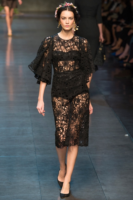 dolce&gabbana 2014 spring summer lace dress