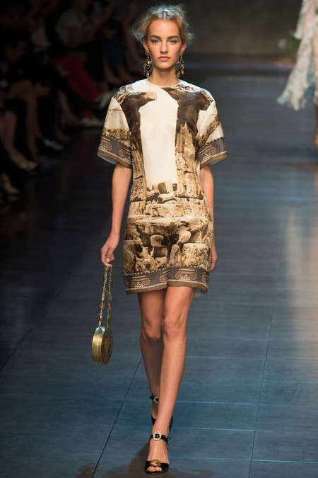 dolce&gabbana 2014 spring summer dress