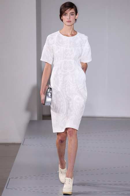 jil sander 2014 spring summer dress