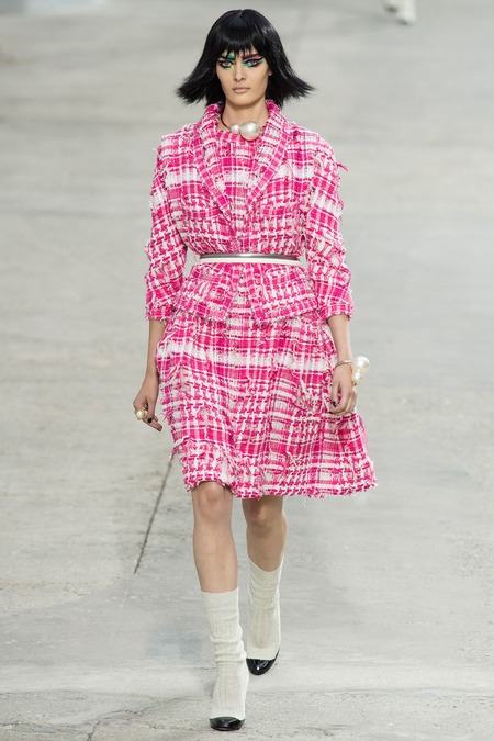chanel 2014 spring summer dress