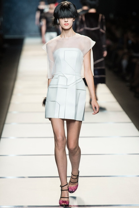 fendi 2014 spring summer dress