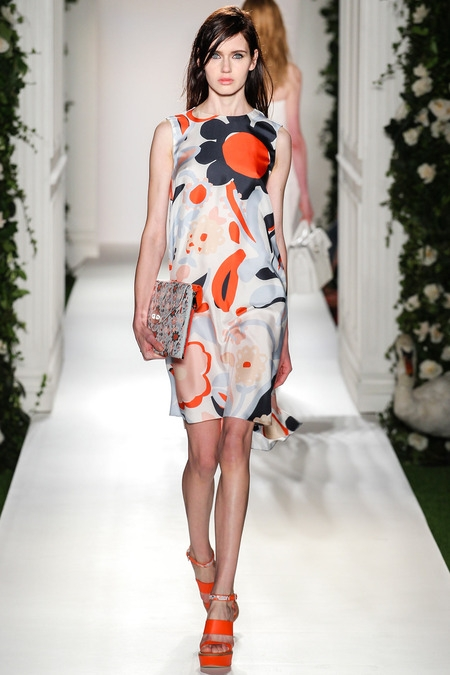 mulberry 2014 spring summer dress floral print