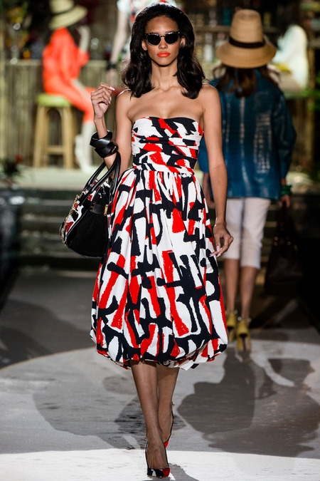 dsquared 2014 spring summer dress
