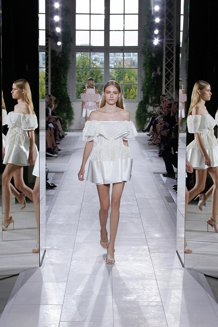 balenciaga 2014 spring summer dress