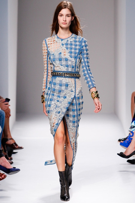 balmain 2014 spring summer dress