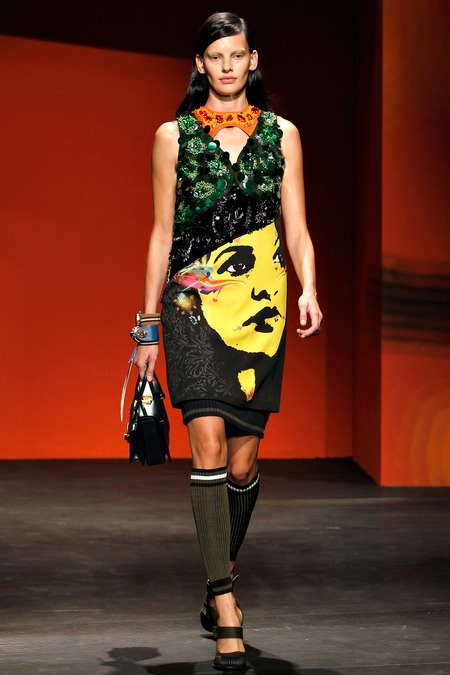 prada 2014 spring summer dress