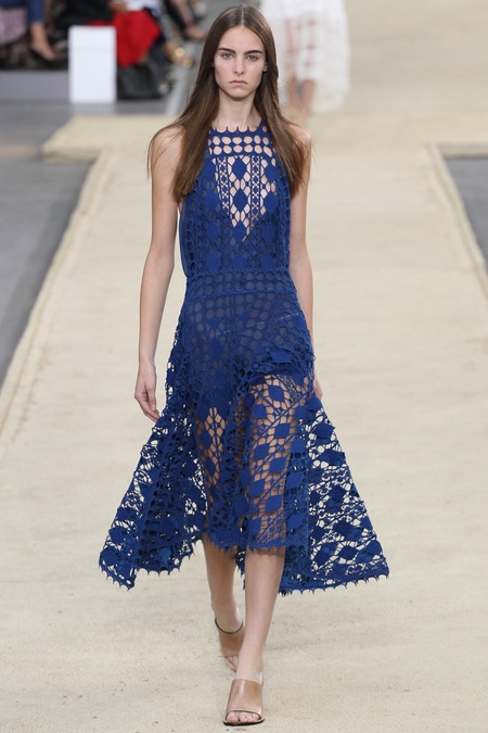 chloe 2014 spring summer lace dress