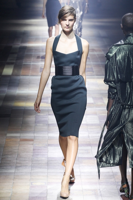 lanvin 2014 dress