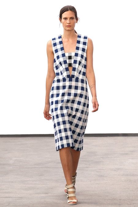 derek lam 2014 spring summer dress