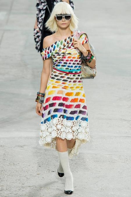 chanel 2014 spring summer dress