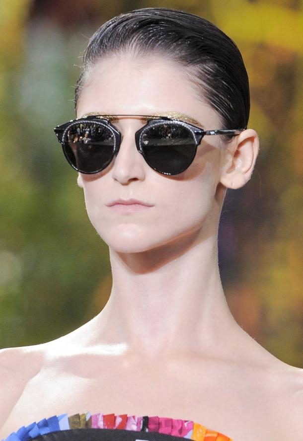 Солнечные очки 2017 женские для круглого лица фото