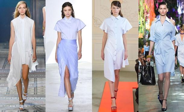 Модные тенденции сезона весна лето 2014