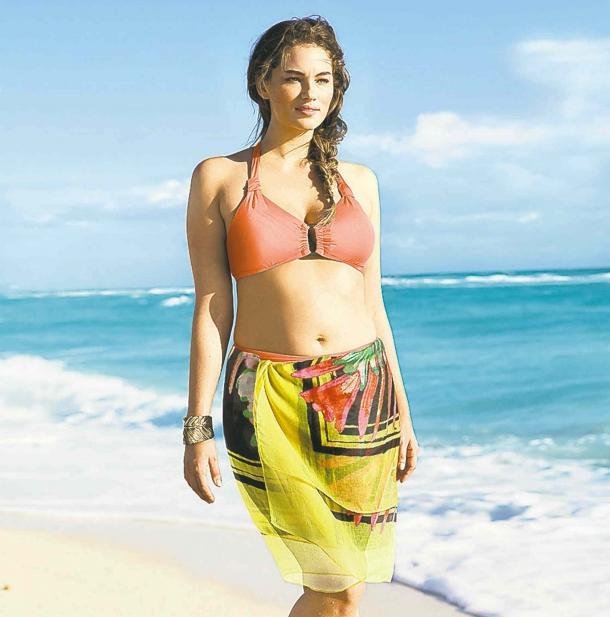 пышные девушки фото на пляже