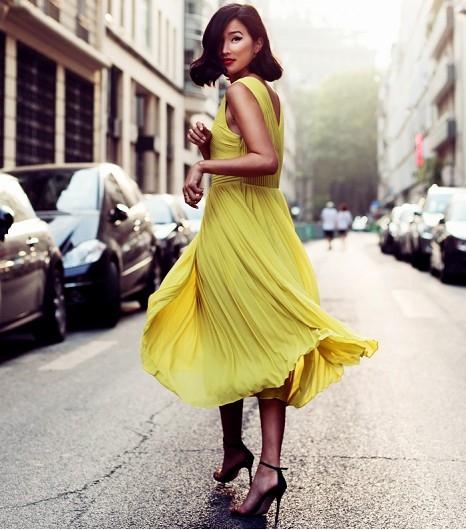 Разлетающееся юбки