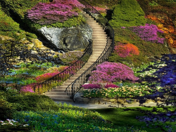 Фото красивые сады россии