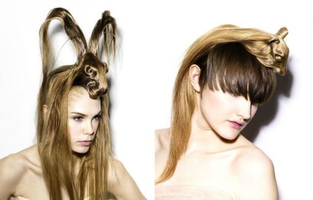 Прически на короткие волосы хэллоуин