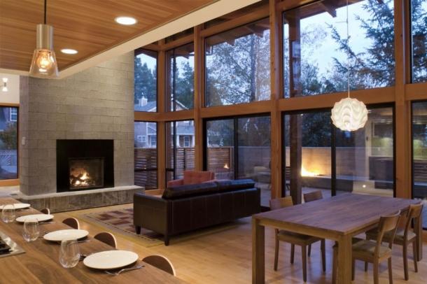 Foyer Living Room Combo : Дома «Штата бобра — мир экологически чистого