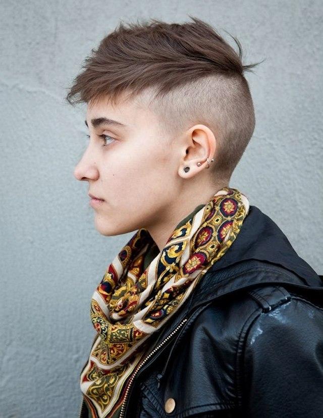 Причёски панков