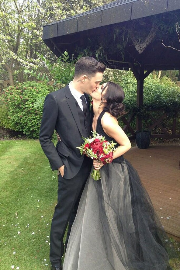 Необычное платья на свадьбу