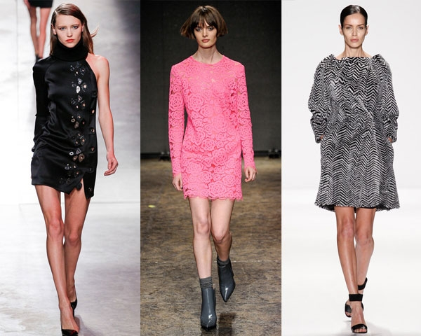 Платья коллекция осень зима 2015
