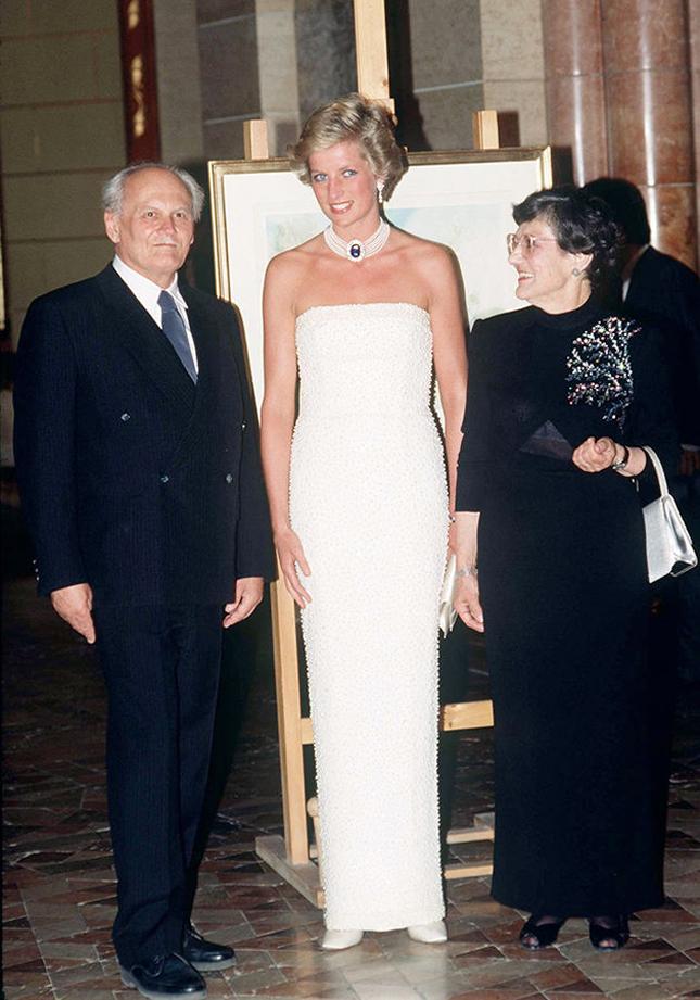 Принцесса Диана, 1990