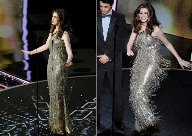 """Энн Хэтэуэй ы качестве ведущей церемонии """"Оскар"""" 2011"""