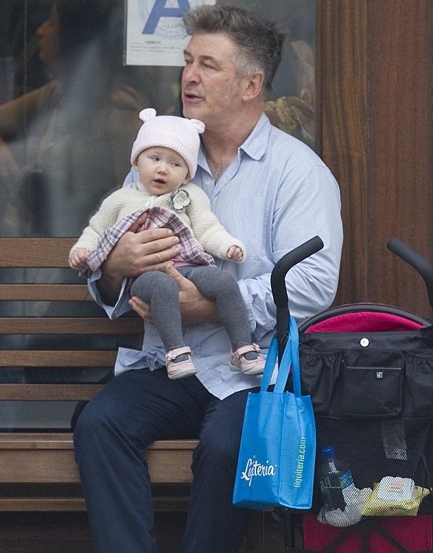 Алек Болдуин с дочкой Кармен