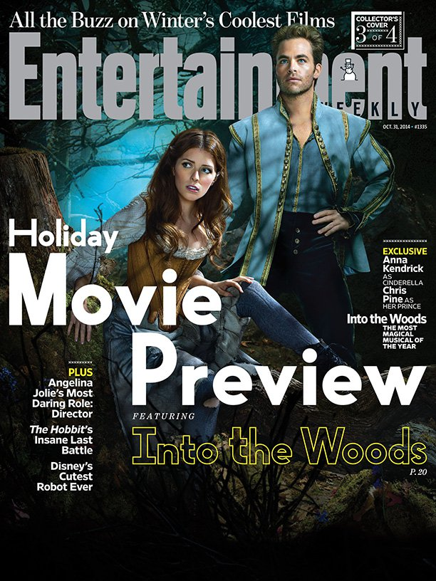 Анна Кендрик и Крис Пейн на обложке  Entertainment Weekly