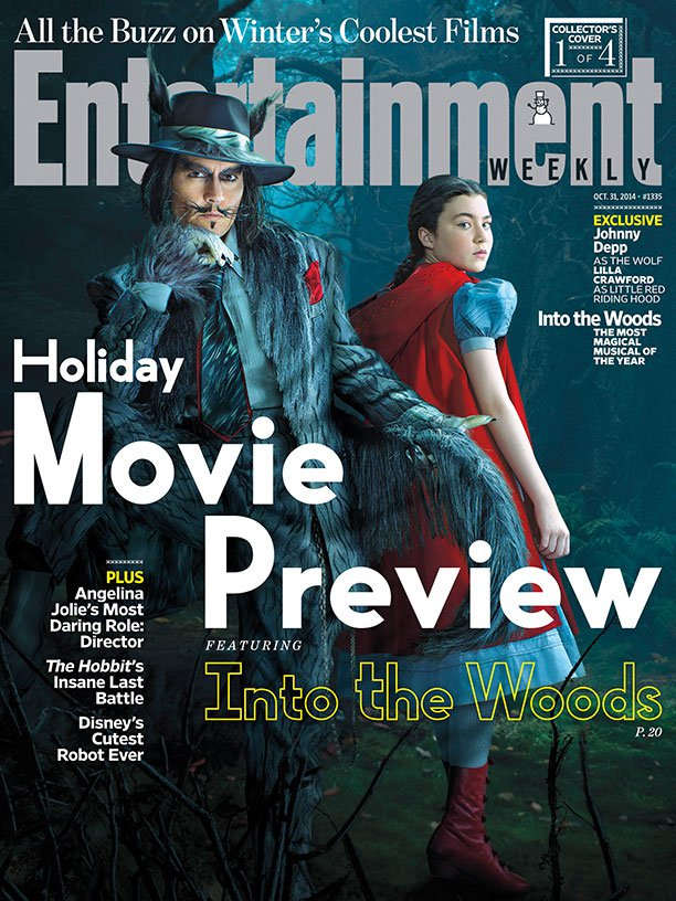 Джонни Депп  на обложке  Entertainment Weekly