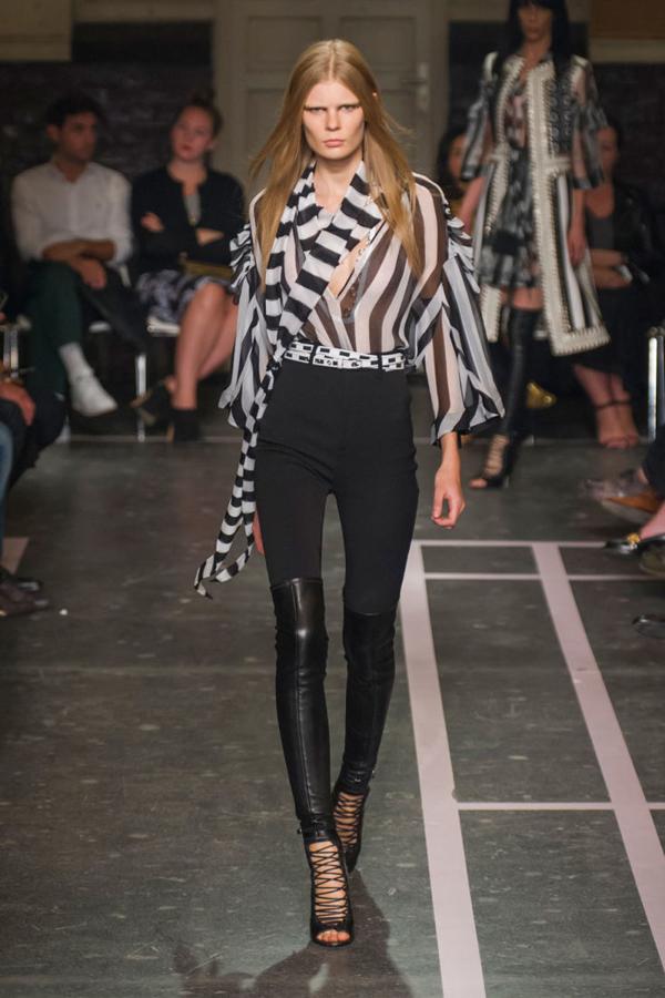 Givenchy spring 2015 лядов