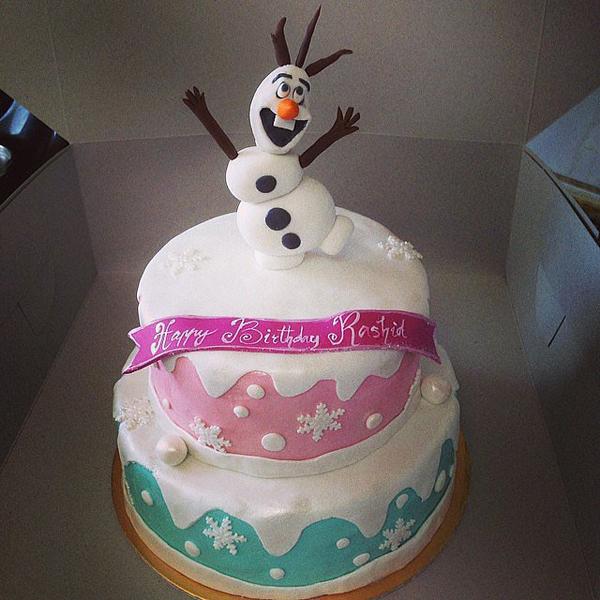 Детские торты к дню рождения
