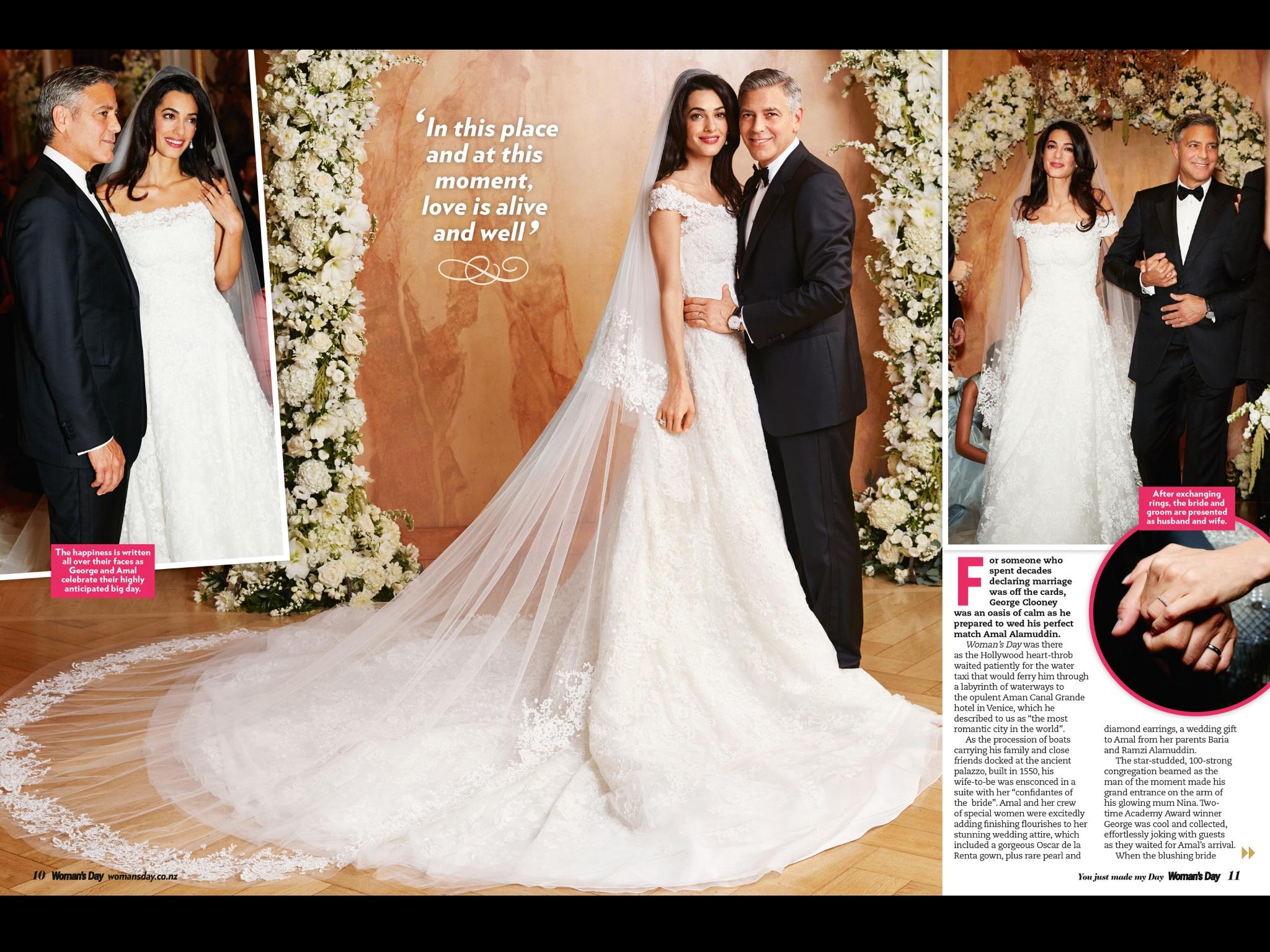 Джордж клуни фото его свадьбы