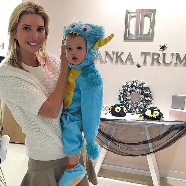 Ivanka-Trump-took-her-little-monster-Joseph-Kushner-work