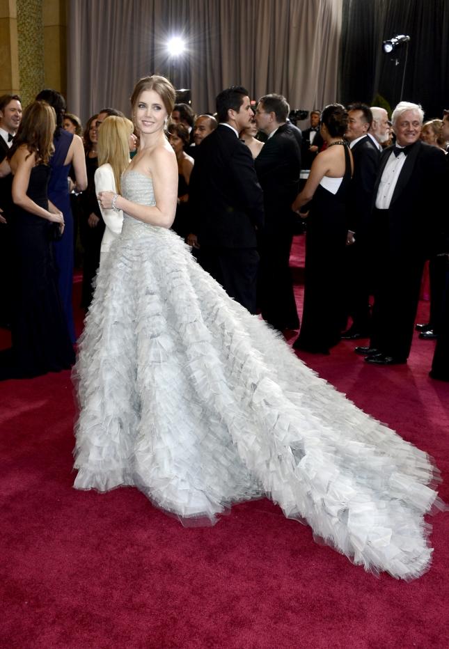 """Эми Адамс на церемонии """"Оскар"""" 2013"""