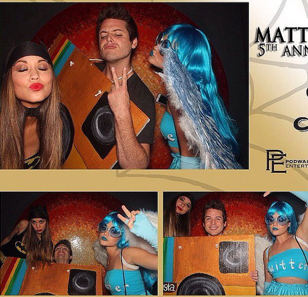 Lucy-Hale-shared-collage-fun-moments-taken-Matthew-Morrison