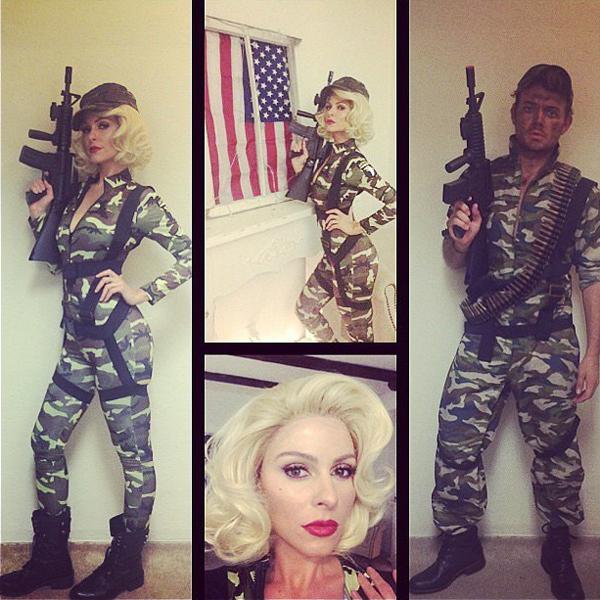 Maria-Menounos-Marilyn-Monroe-inspired-wig-hot-lipstick-made
