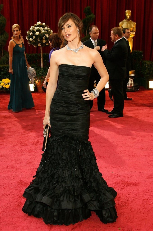 """Дженнифер Гарнер на церемонии """"Оскар"""" 2008"""