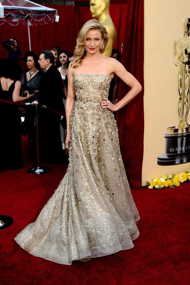 """Кэмерон Диаз на церемонии """"Оскар"""" 2010"""
