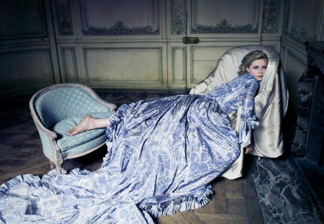 Кирстен Данст в Vogue, 2005