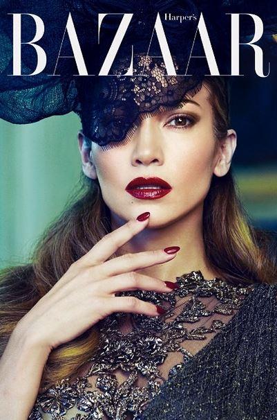 Дженнифер Лопес для Harper's Bazaar Россия