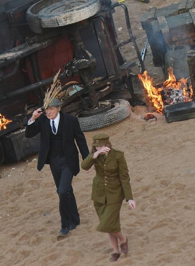 """Фото со съемок сериала """"Папашина армия"""""""