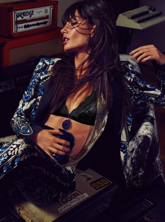 Лили Олдридж для S Moda