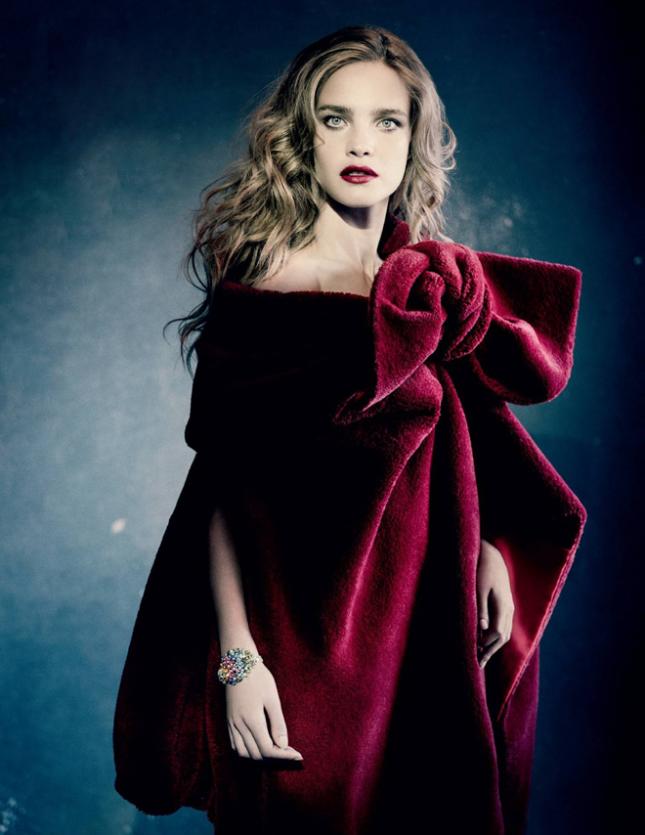 Наталья Водянова в фотосессии для Vogue Россия