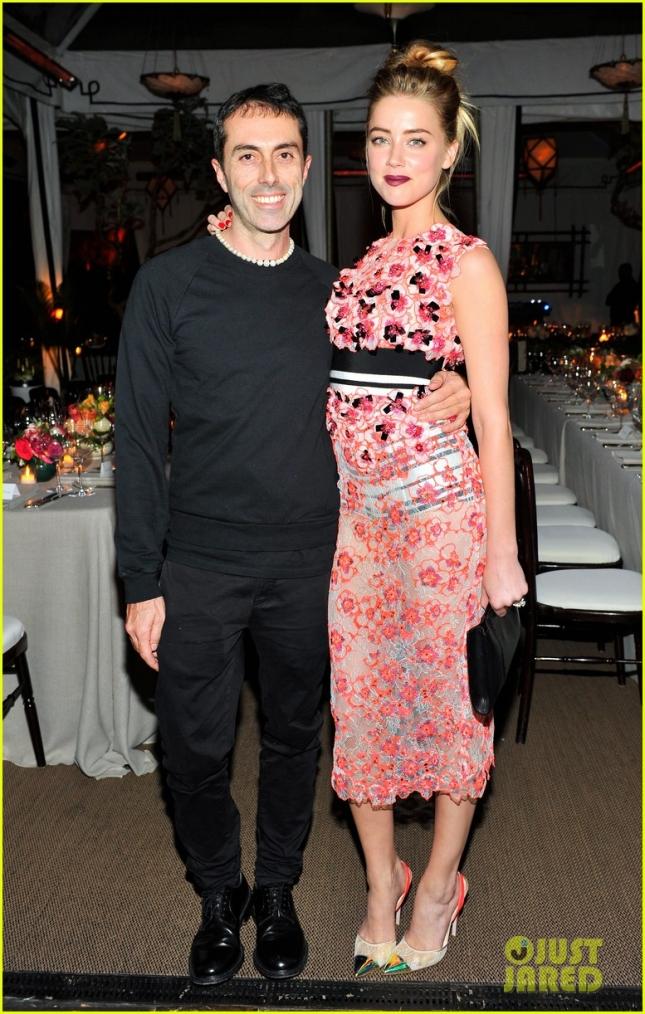 Эмбер Херд на мероприятии MAC and Vogue Celebrate Giambattista Valli