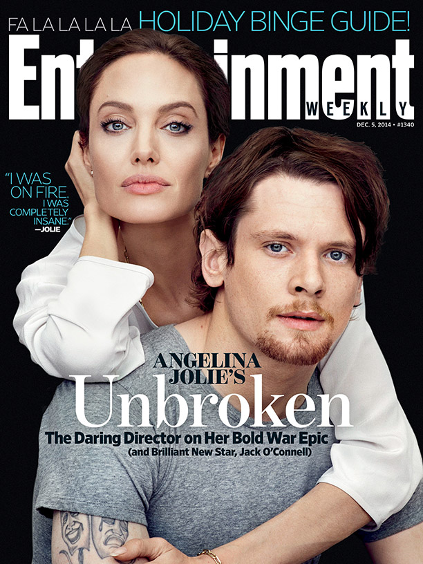 Анджелина Джоли и Джек О Коннел на обложке Entertainment Weekly