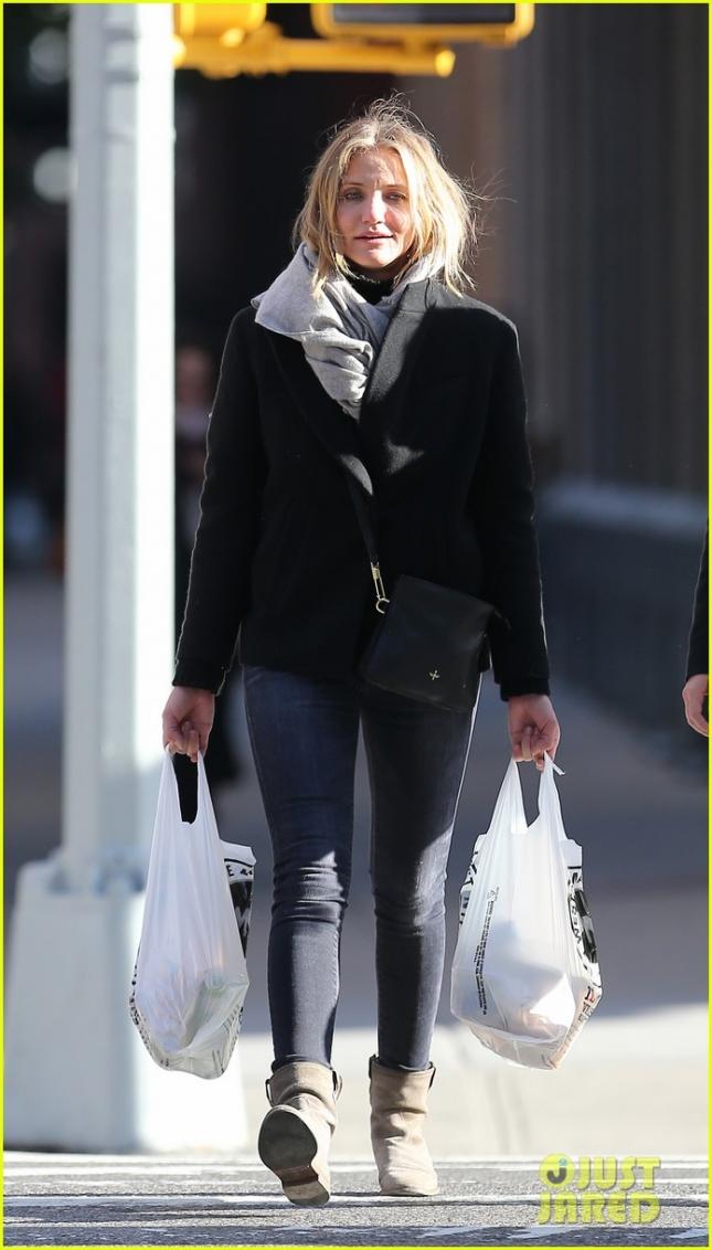 Кэмерон Диаз на шоппинге в Нью-Йорке