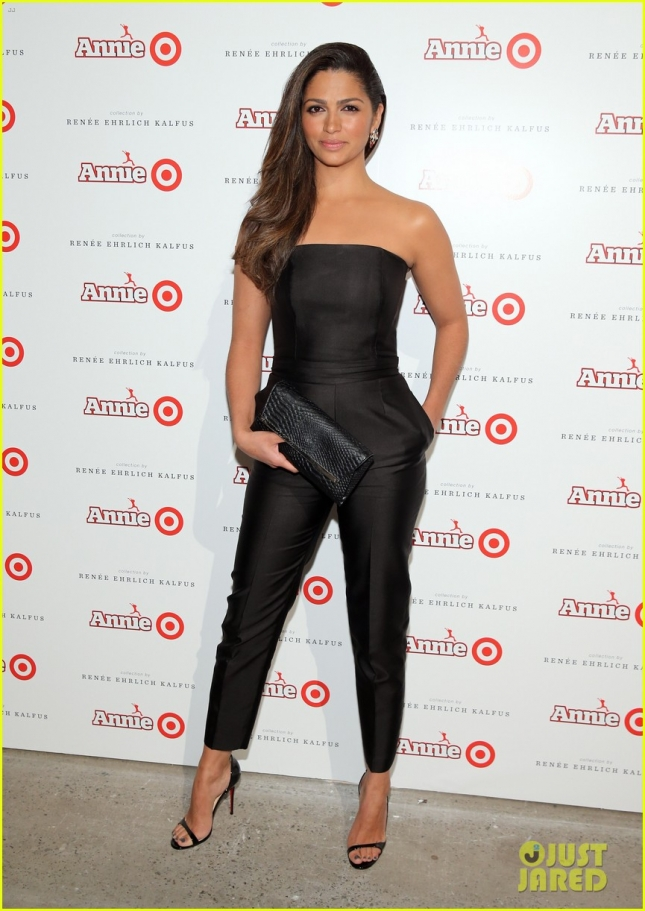 Камила Алвес на ланче Annie For Target