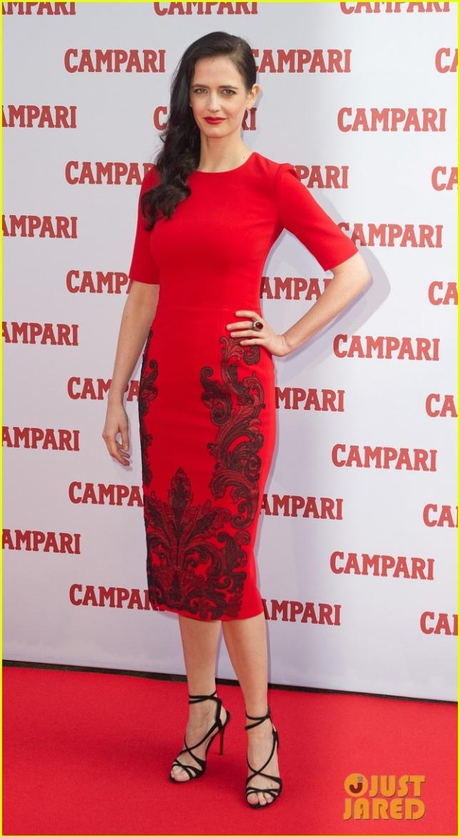 Ева Грин на презентации календаря Campari на 2015 год