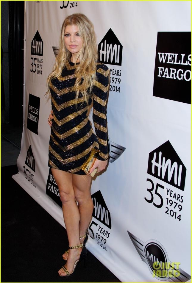 """""""Золотая девочка"""" Ферги получила награду на Emery Awards и рассказала, что её второй альбом при участии Will.i.am выйдет уже в начале следующего года"""