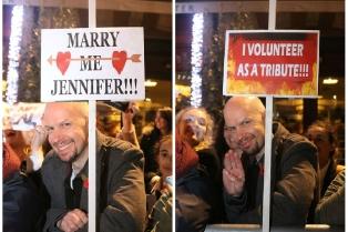 """""""Выходи за меня,Дженифер!"""" """"Я хочу быть трибутом!"""""""